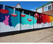 Mural Oranjestraat (2018)
